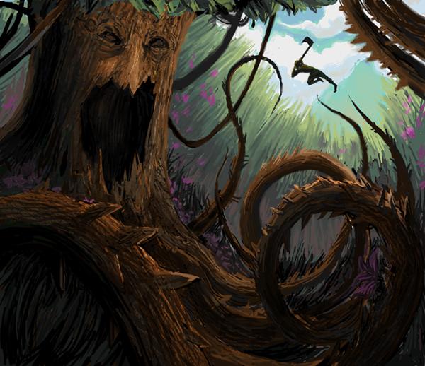 Promenons nous dans les bois ♪ Tree_monster_by_kj_a