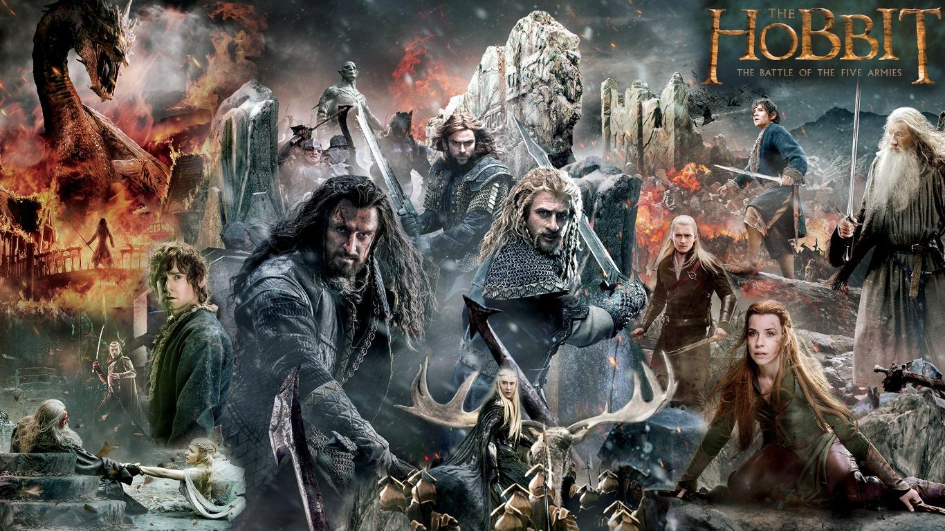 تحميل فيلم The Hobbit بأجزائه الثلاثة مترجم عربي All_in_one_hobbit_botfa_banner_wallpaper_by_ponyhallo1-d85sikw