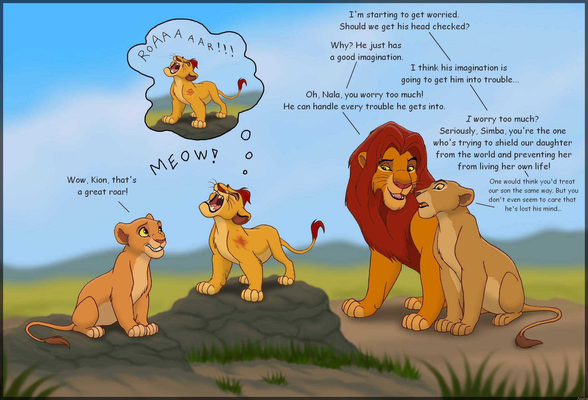 mis quejas de la nueva serie el leon guardian Super_roar_by_hydracarina-d9dedg7