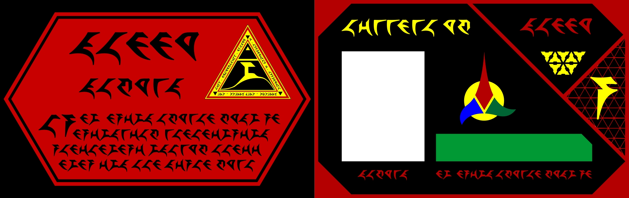carte identité Star Trek Klingon_id_card_by_cmdrkerner-d3dk9cr