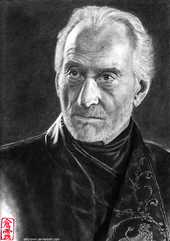 realistas - dibujos realistas Tywin_lannister__charles_dance__by_ellicrown-d7kh0e2