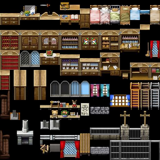 Bibliothèque des ressources VX Ace Tilesets Fancy_wooden_furniture_by_nicnubill-d6gxhxe