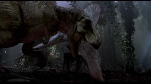 JP3 Tyrannosaurus: Subadult?  Trex_vs_spinosaurus_by_kongzillarex619