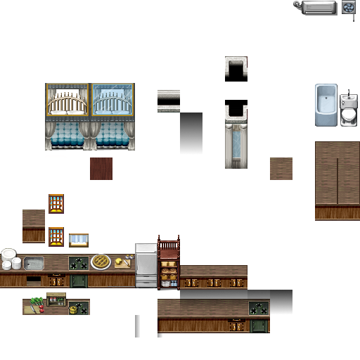 Bibliothèque des ressources VX Ace Tilesets Glass_canapy_bed_light_by_nicnubill-d6olcp4