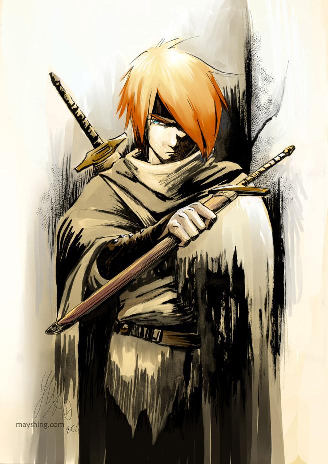 [Αρχή - Αποστολή] Δέκα μέτρα κι ένα κόψε  Swordsman_by_mayshing-d4jsg99