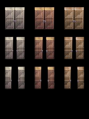 Bibliothèque des ressources VX Ace Tilesets __wood_gate_by_nicnubill-d80hm98