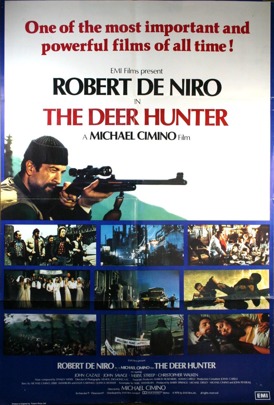 Filmski plakati Deer-Hunter