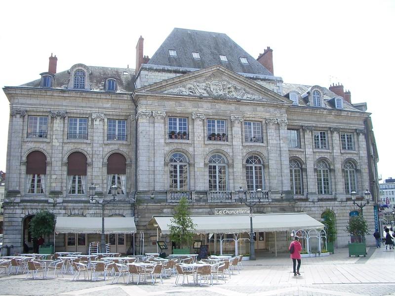 Expo. Archives nat. Les décors de la Chancellerie d'Orléans Place_du_Martoi_Chancellerie