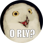 Orlycoin | the O RLY? owl has a coin!