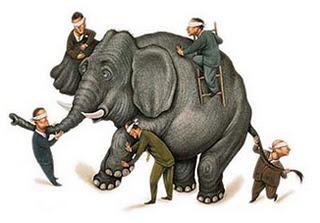 Vers une définition de l'intelligence... - Page 2 Elephant-et-aveugles
