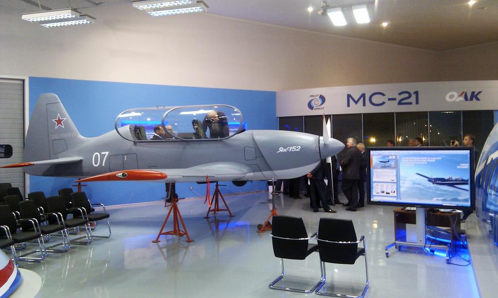 Yakovlev YAK-152 Yak152comm2