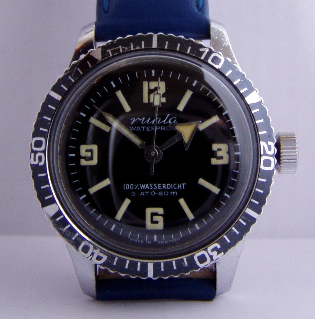 montre de marque ruhla et anker Ruhla-divers-watch