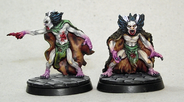undead - LF Thrall/Squire miniature for undead warband Wightspaint1