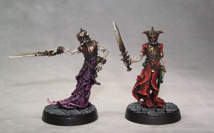 undead - LF Thrall/Squire miniature for undead warband Wraithspaint1