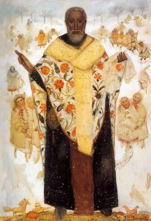 Любимый святой St.Nikolay