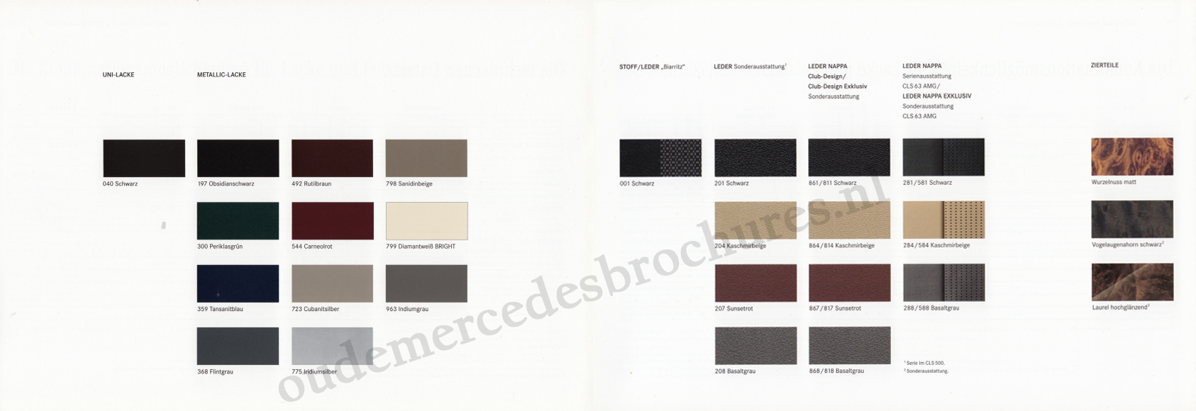 (C219): Catálogo 2008 - alemão 019