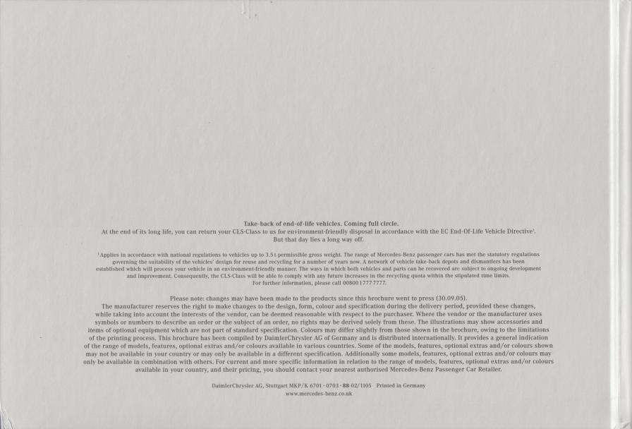 (C219): Catálogo 2005 - inglês 035