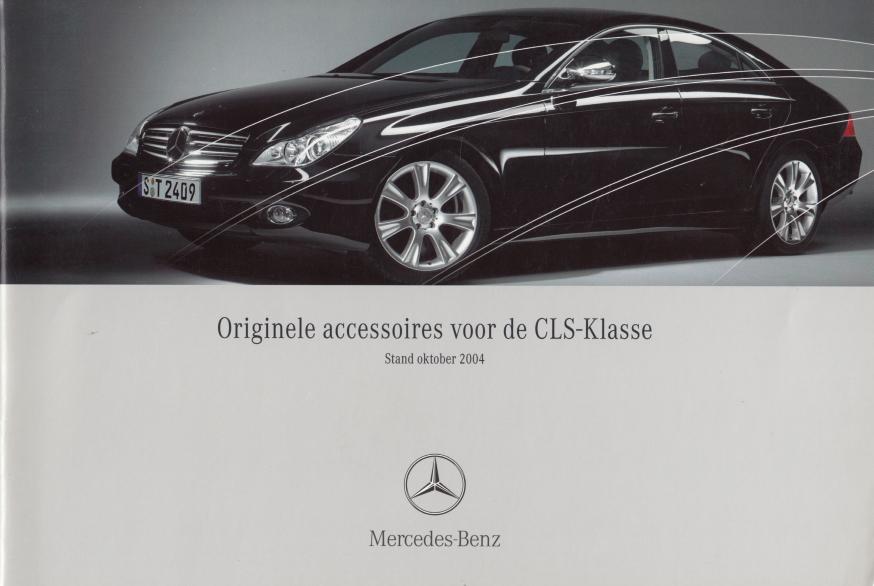 (C219): Catálogo de acessórios 2004 - neerlandês 001