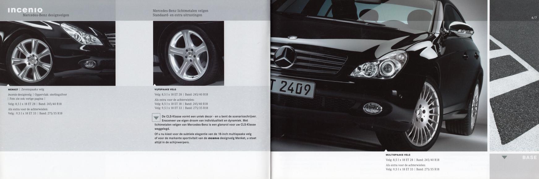 (C219): Catálogo de acessórios 2004 - neerlandês 004