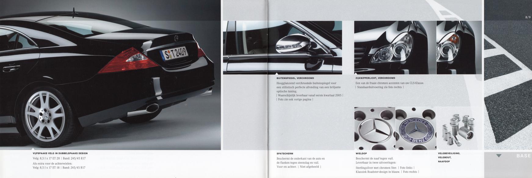 (C219): Catálogo de acessórios 2004 - neerlandês 005