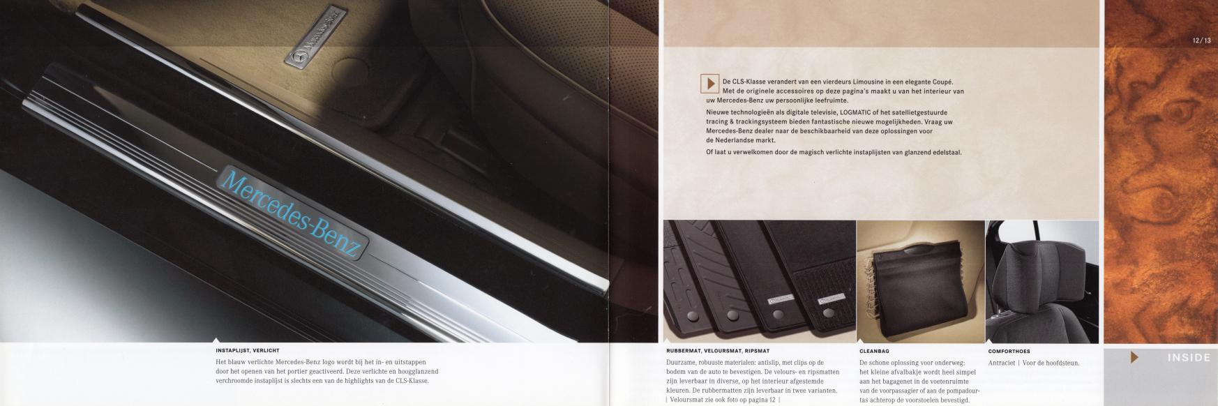 (C219): Catálogo de acessórios 2004 - neerlandês 007