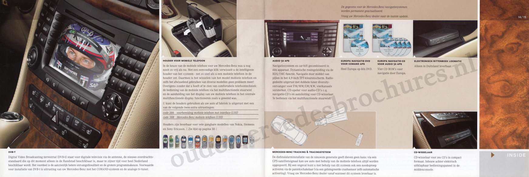 (C219): Catálogo de acessórios 2004 - neerlandês 008