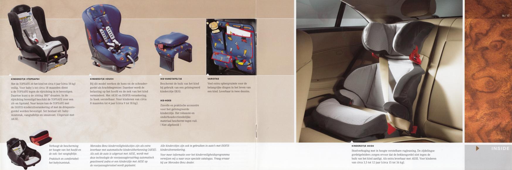 (C219): Catálogo de acessórios 2004 - neerlandês 009