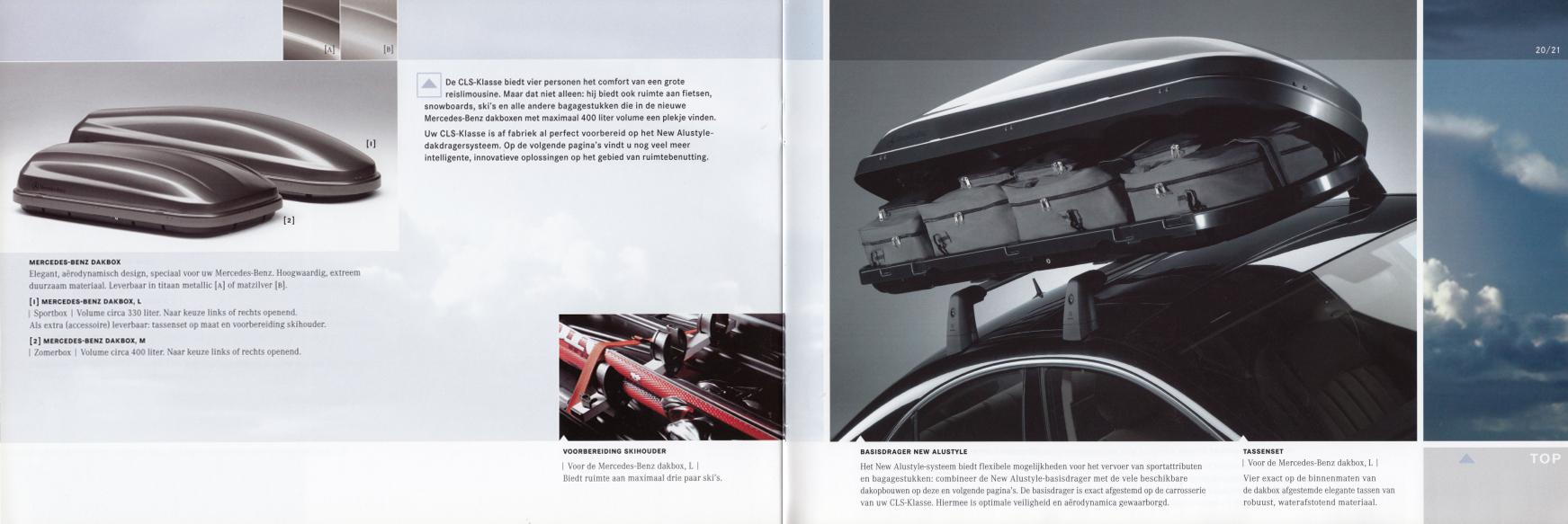(C219): Catálogo de acessórios 2004 - neerlandês 011