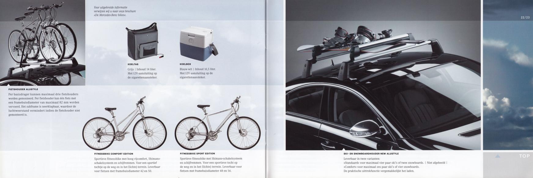 (C219): Catálogo de acessórios 2004 - neerlandês 012