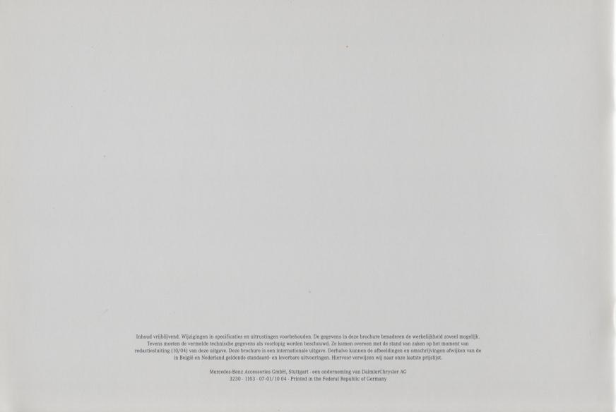 (C219): Catálogo de acessórios 2004 - neerlandês 017