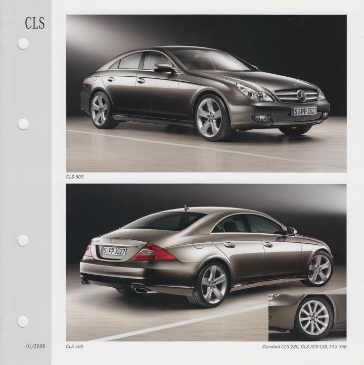 (C219): Catálogo 2004 a 2009 - cores e interiores - multilingue 002