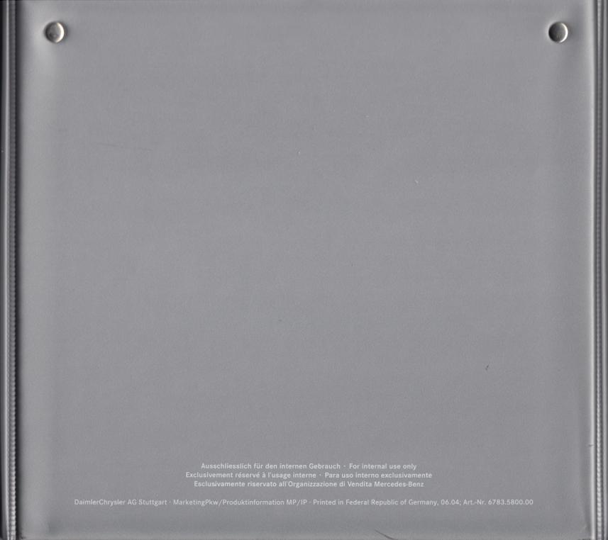 (C219): Catálogo 2004 a 2009 - cores e interiores - multilingue 027