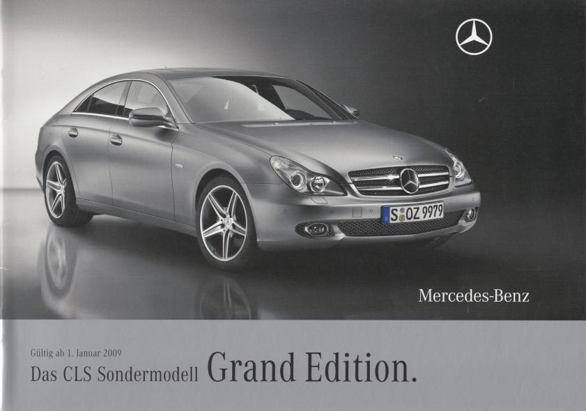 """(C219): Catálogo 2009 """"Grand Edition"""" - alemão 001"""