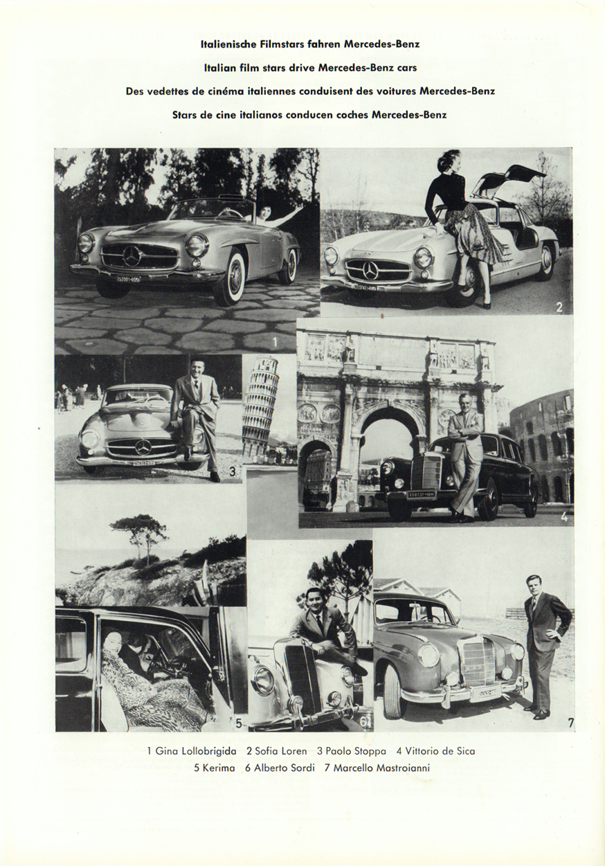 (REVISTA): Periódico In aller welt n.º 12 - Mercedes-Benz no mundo - 1957 - multilingue 009