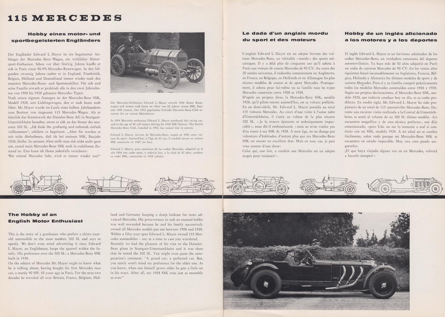 (REVISTA): Periódico In aller welt n.º 29 - Mercedes-Benz no mundo - 1959 - multilingue 010
