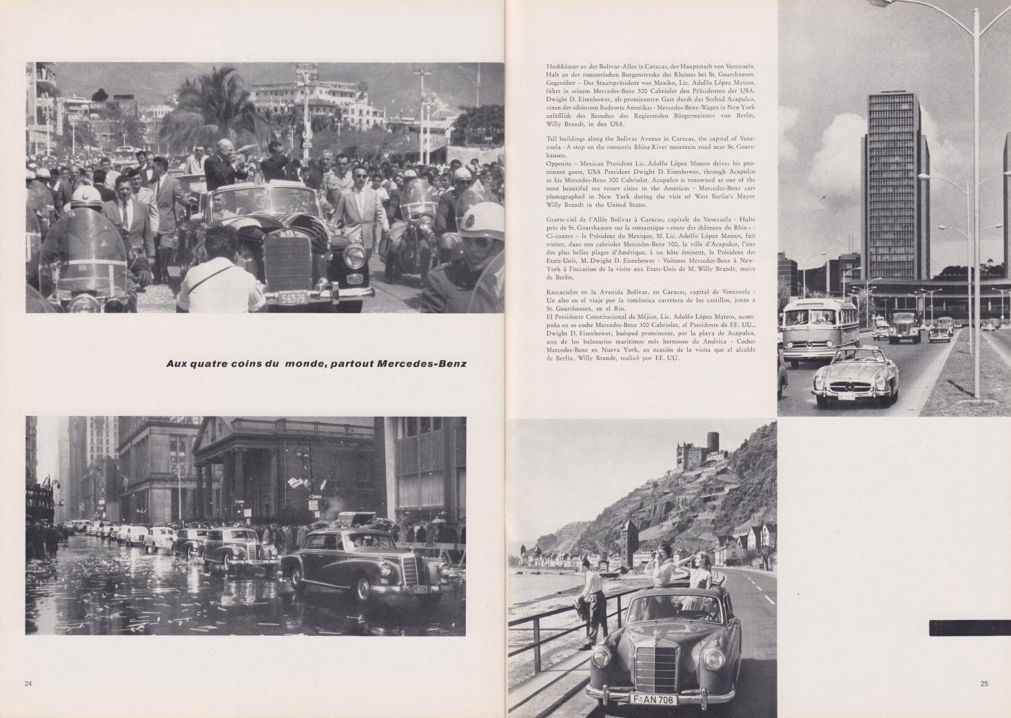 (REVISTA): Periódico In aller welt n.º 31 - Mercedes-Benz no mundo - 1959 - multilingue 013