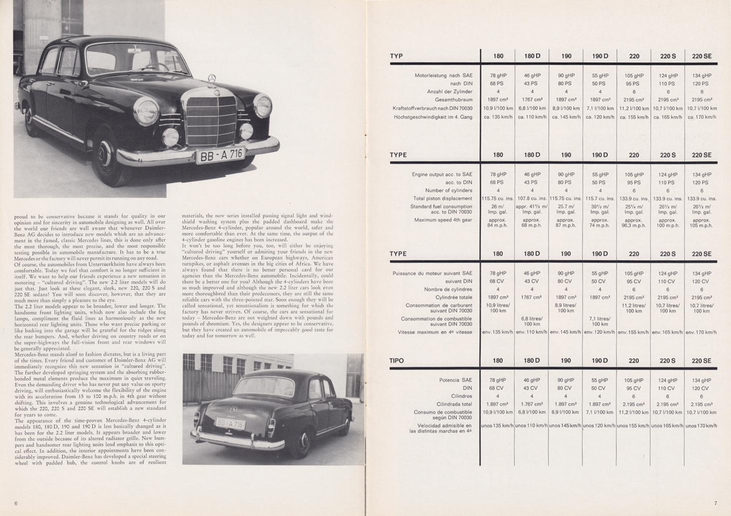 (REVISTA): Periódico In aller welt n.º 34 - Mercedes-Benz no mundo - 1959 - multilingue 004