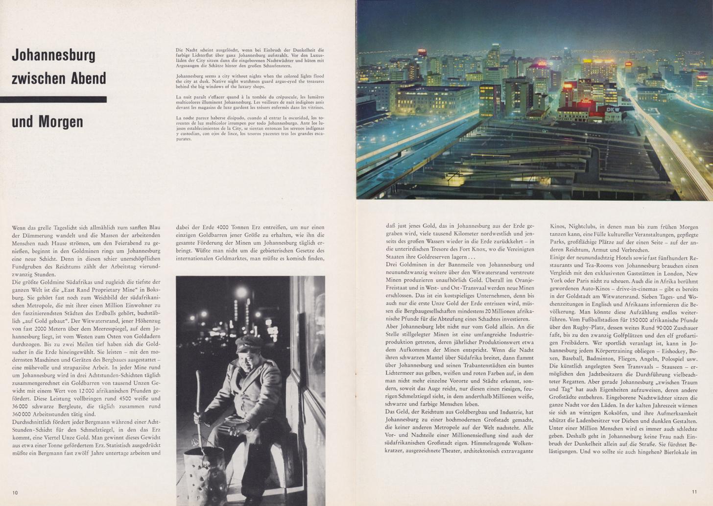 (REVISTA): Periódico In aller welt n.º 34 - Mercedes-Benz no mundo - 1959 - multilingue 006