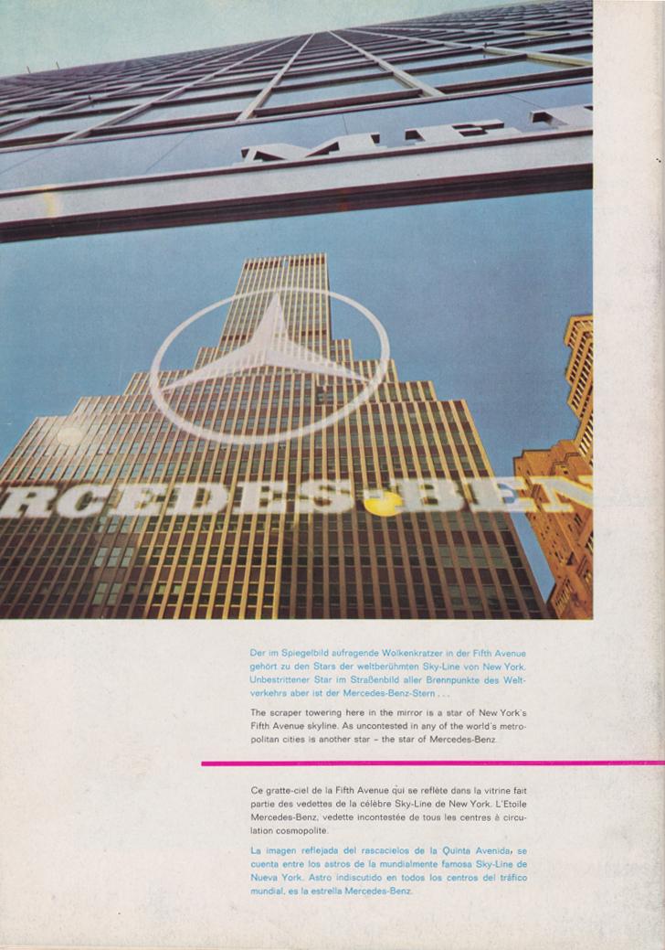 (REVISTA): Periódico In aller welt n.º 34 - Mercedes-Benz no mundo - 1959 - multilingue 015