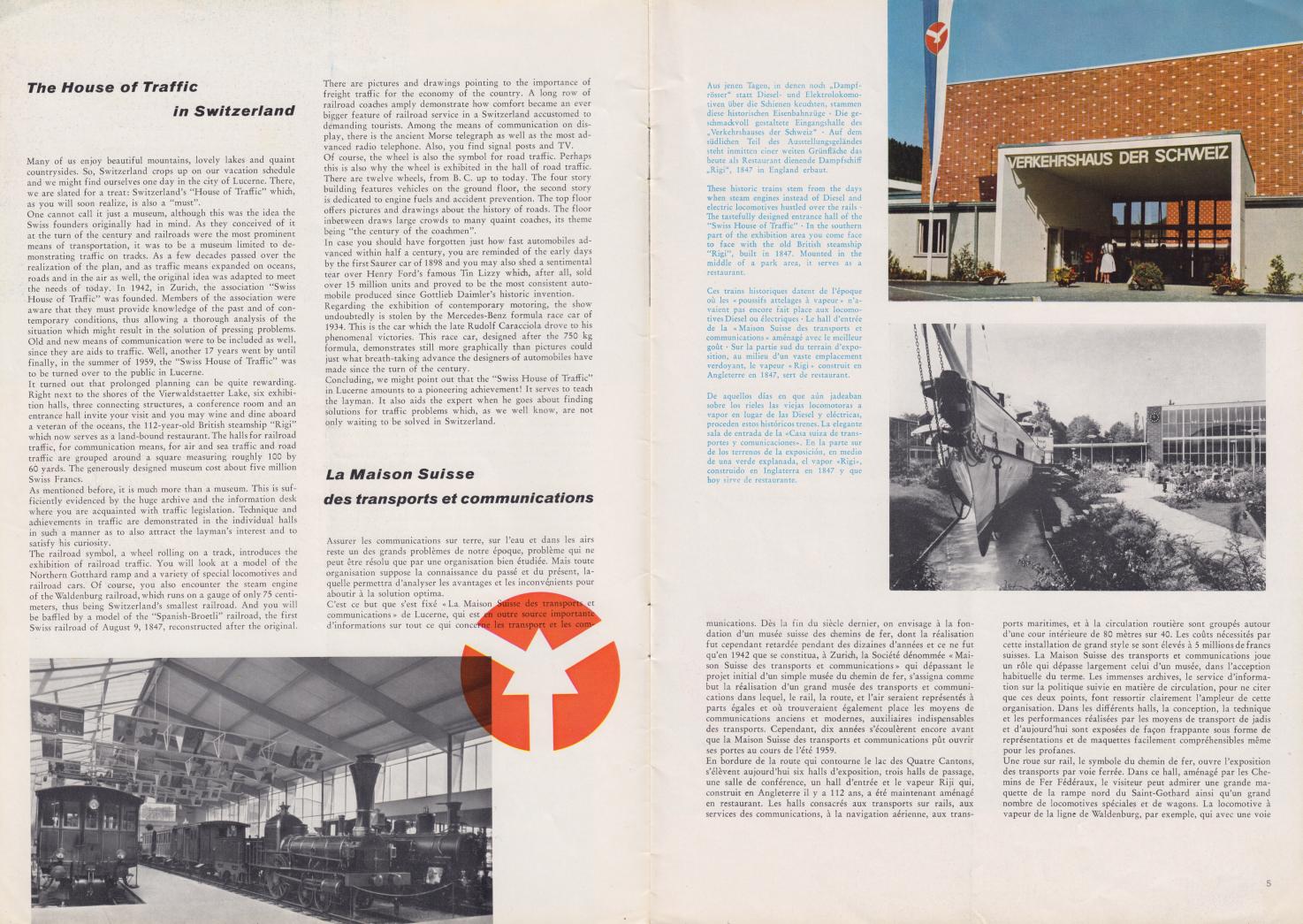 (REVISTA): Periódico In aller welt n.º 37 - Mercedes-Benz no mundo - 1959 - multilingue 003