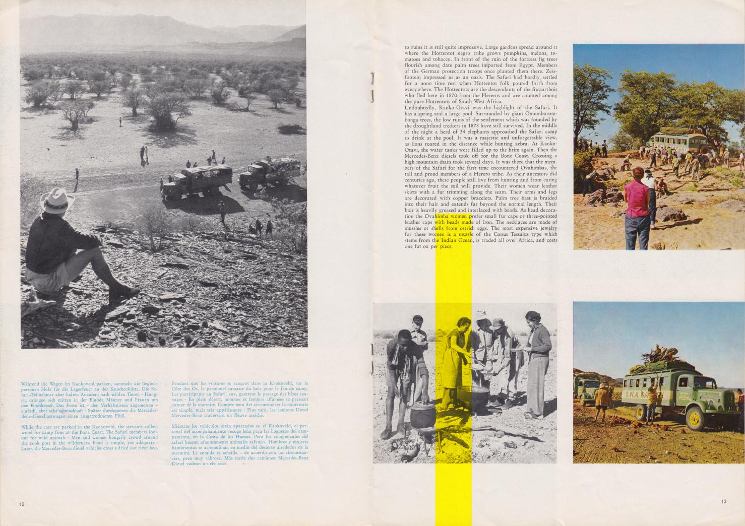 (REVISTA): Periódico In aller welt n.º 37 - Mercedes-Benz no mundo - 1959 - multilingue 007