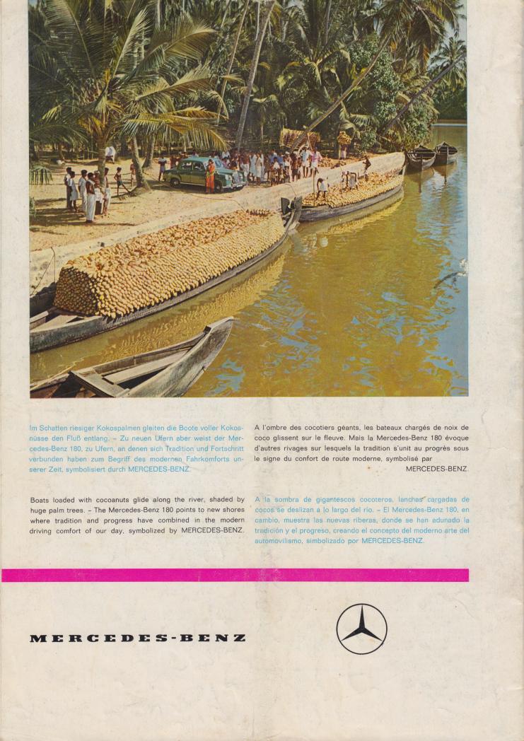 (REVISTA): Periódico In aller welt n.º 37 - Mercedes-Benz no mundo - 1959 - multilingue 013