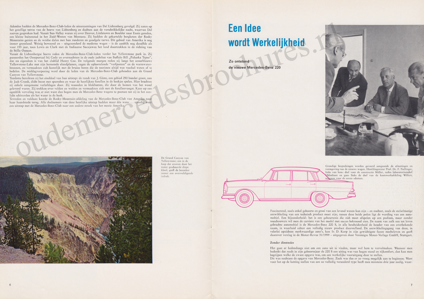 (REVISTA): Periódico In aller welt n.º 38 - Mercedes-Benz no mundo - 1960 - multilingue 004