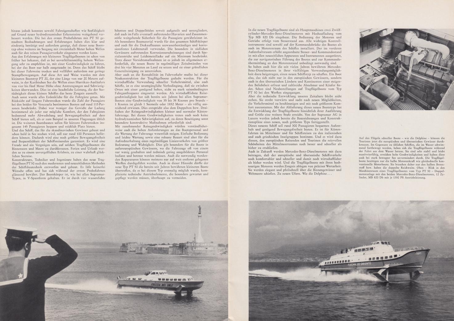 (REVISTA): Periódico In aller welt n.º 42 - Mercedes-Benz no mundo - 1960 - multilingue - com imagens do Brasil e construção de Brasília 003