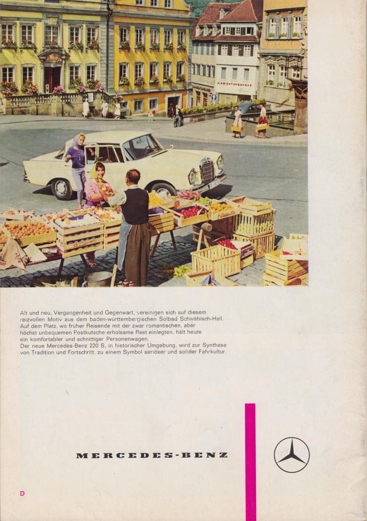 (REVISTA): Periódico In aller welt n.º 42 - Mercedes-Benz no mundo - 1960 - multilingue - com imagens do Brasil e construção de Brasília 015