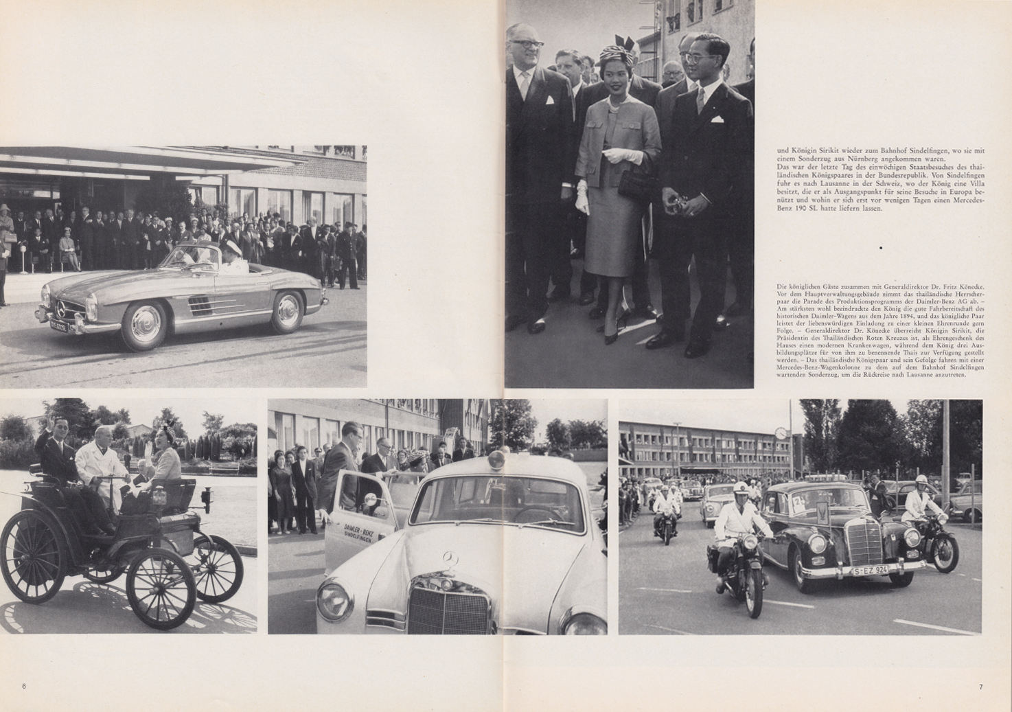 (REVISTA): Periódico In aller welt n.º 44 - Mercedes-Benz no mundo - 1960 - multilingue 004