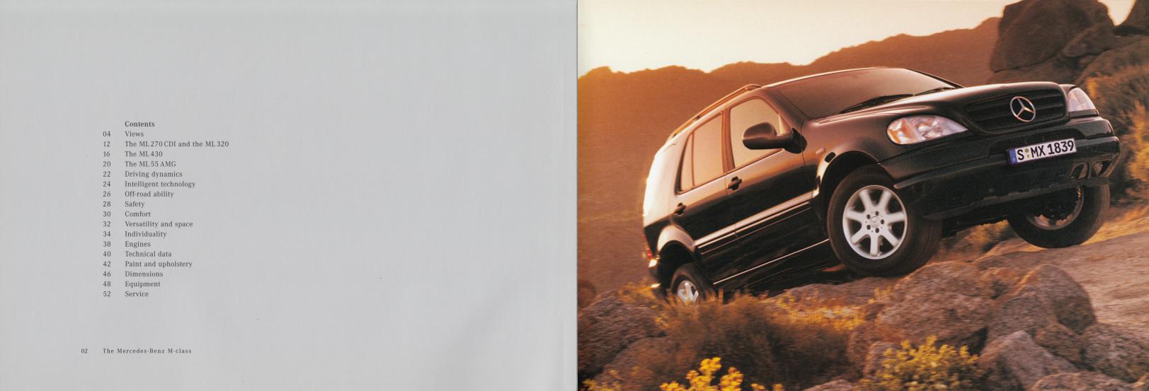 (W163): Catálogo 2001 (1) - inglês 003