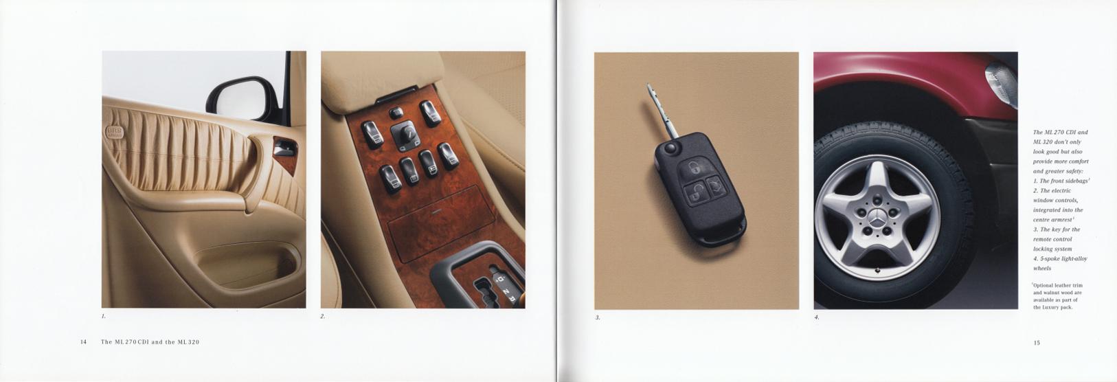 (W163): Catálogo 2001 (1) - inglês 009