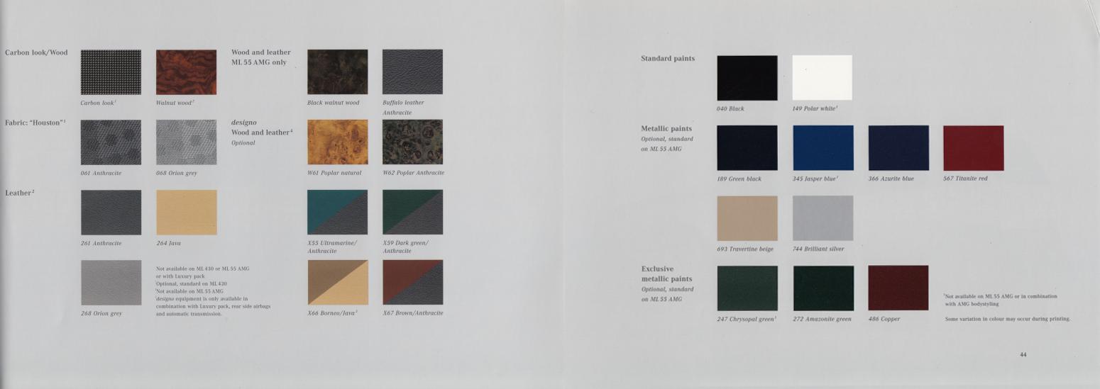 (W163): Catálogo 2001 (1) - inglês 024