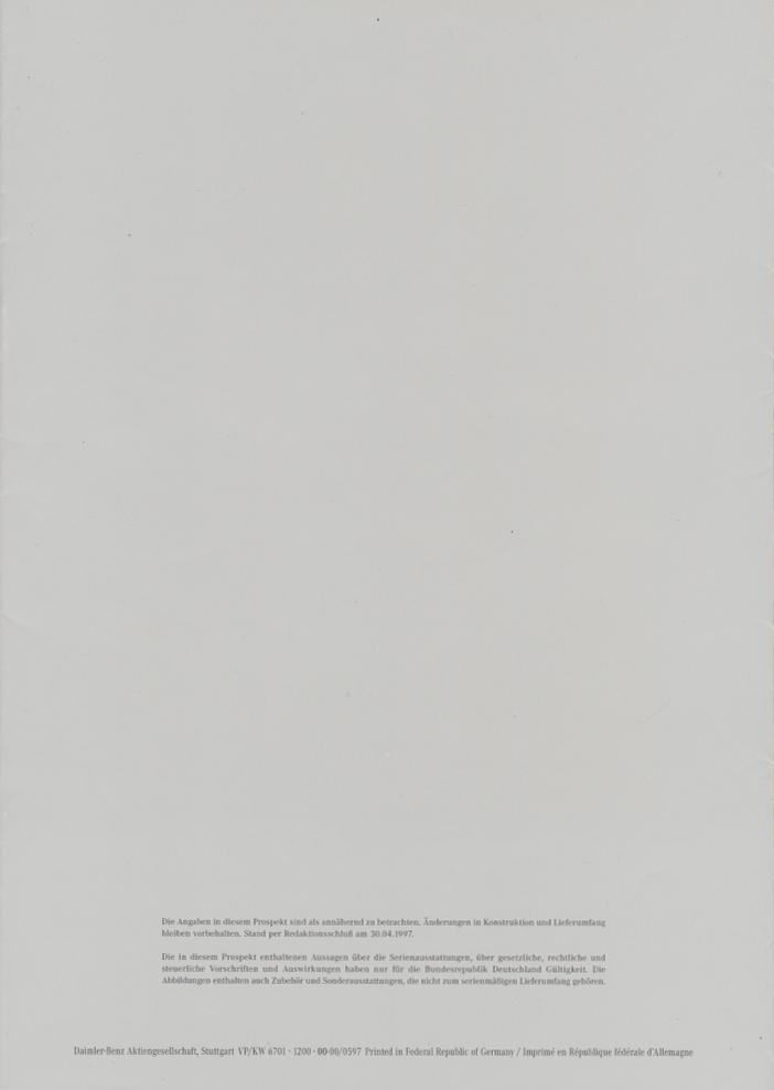 (W163): Catálogo 1997 - alemão  012
